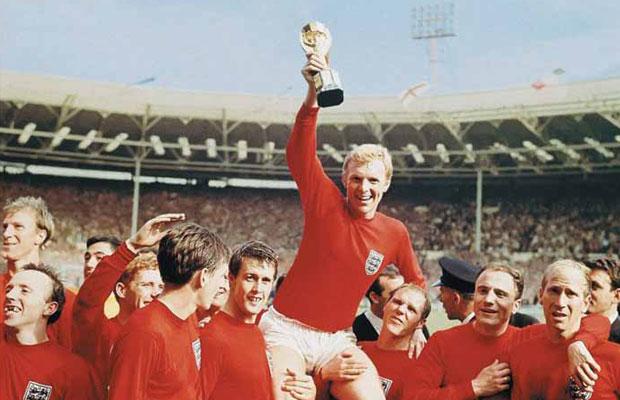 Replica maglia dell'Inghilterra al Mondiale 1966