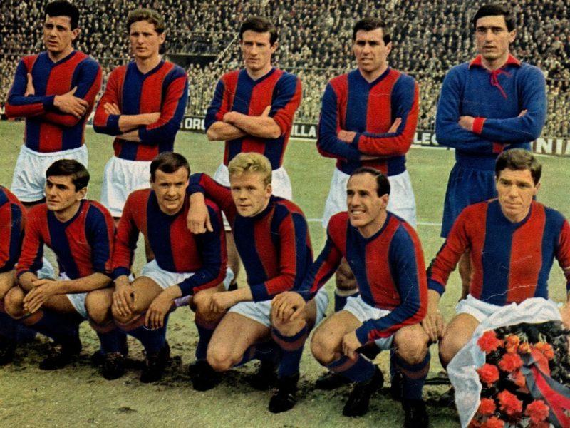 Maglia Bologna: la replica della storica divisa anni '60
